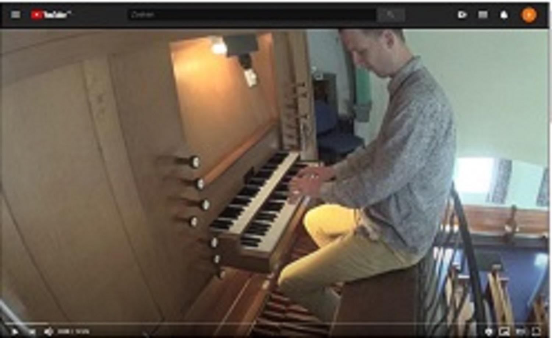 HvH Bach prelude en fuga in E
